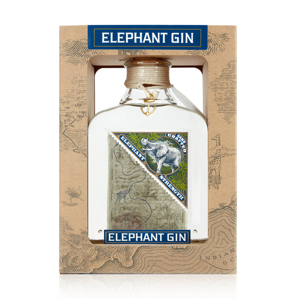 Elephant Strength Gin in Geschenkbox