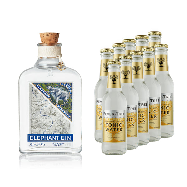 Elephant Strength Gin 500ml & Fever-Tree Tonic