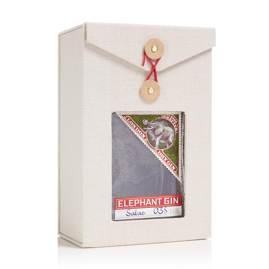 Elephant London Dry Gin in Geschenkverpackung