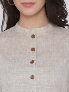 Khadi Beige Top