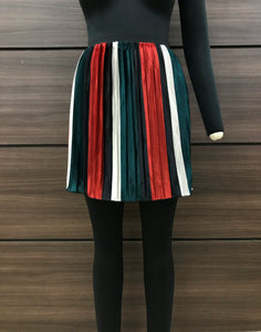 Circus Stripes Mini Skirt