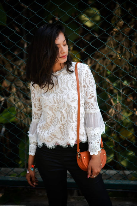Merry Lace Top