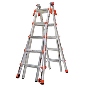 ALUM LADDER #300 26' REVOLUT.