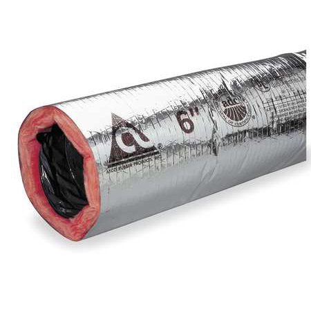 "ATCO 6"" INSULATED FLEXIBLE DUCT 25FT"