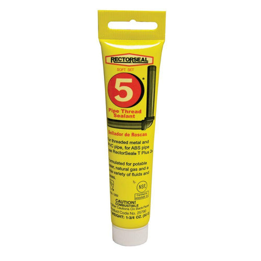 REF. PIPE THRD SEALANT 1.75 OZ - RECTORSEAL - Tristate Filter & HVAC Supplies, Inc.