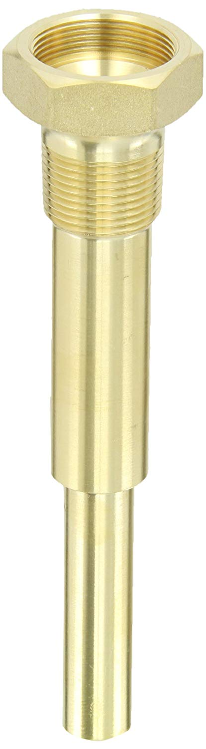 "3/4"" 6"" BRASS THERM. WELL - Tristate Filter & HVAC Supplies, Inc."