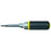 "KLEIN 8"" HD M-BIT SCREWDRIVER - Tristate Filter & HVAC Supplies, Inc."