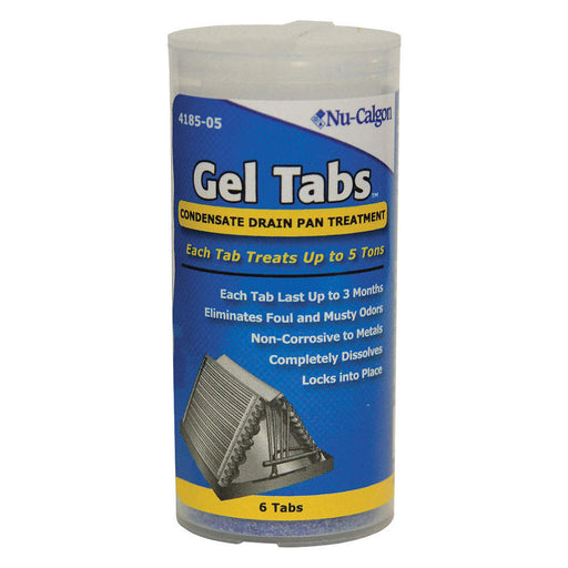 Geltabs Condensate Pan Treatment - NU CALGON - Tristate Filter & HVAC Supplies, Inc.