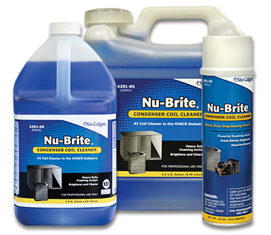 Nu-Brite Condensor Coil Cleaner, 1 Gallon