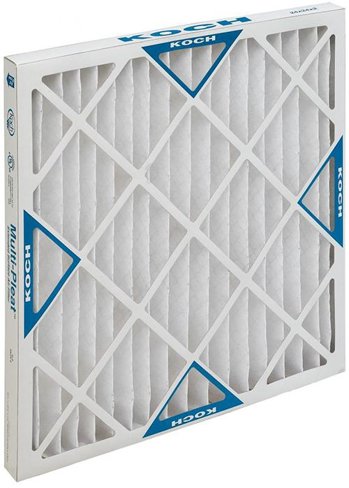 25x25x2 MERV 8 PLEATED FILTER (CASE OF 12)