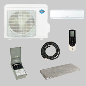 9KBTU HP DUCTLESS SPLIT 208/1/60 1Z PACKAGE - Tristate Filter & HVAC Supplies, Inc.