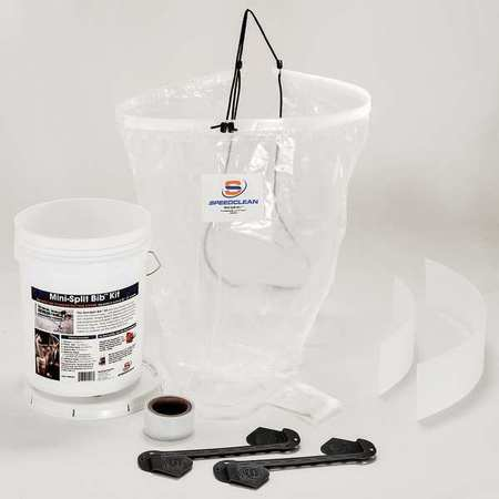 SPEEDCLEAN MINI-SPLIT BIB KIT - Tristate Filter & HVAC Supplies, Inc.