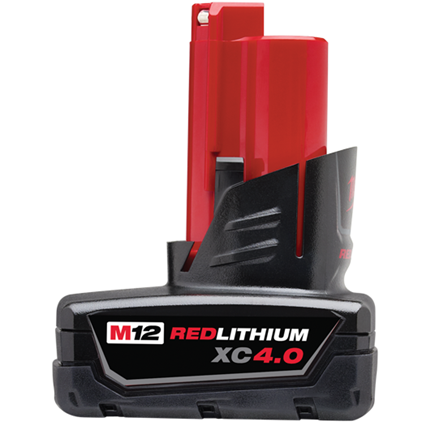 MILWAUKEE RED LITHIUM XC BATTERY 4.0 - Tristate Filter & HVAC Supplies, Inc.