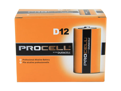 DURACELL PROCELL D BATT 12PK - Tristate Filter & HVAC Supplies, Inc.