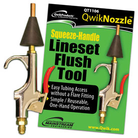QWIK SYSTEM FLUSH: SQUEEZE NOZZLE - Tristate Filter & HVAC Supplies, Inc.