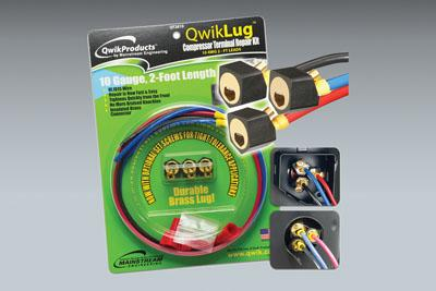QWIKLUG: 3 TERMINAL REPAIR LUGS 10AWG 2' LEAD - Tristate Filter & HVAC Supplies, Inc.