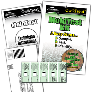 QWIKTREAT MOLD TEST KIT - Tristate Filter & HVAC Supplies, Inc.