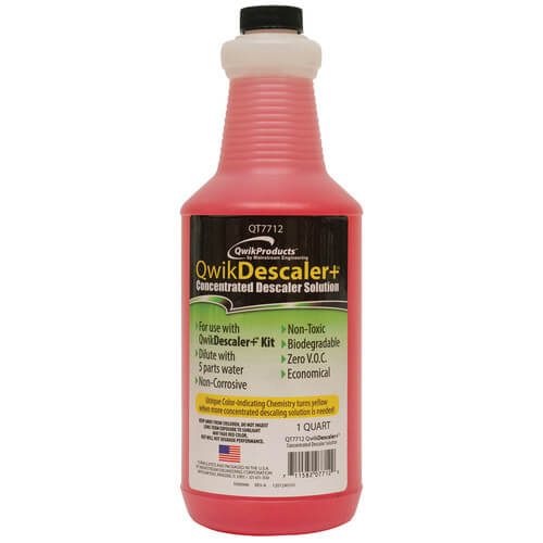 QWIKDESCLAER+: 1 QUART LIME, RUST, SCALE REMOVER