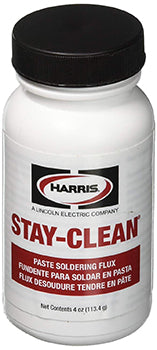 STAY CLEAN PASTE FLUX 4 OZ. - Tristate Filter & HVAC Supplies, Inc.