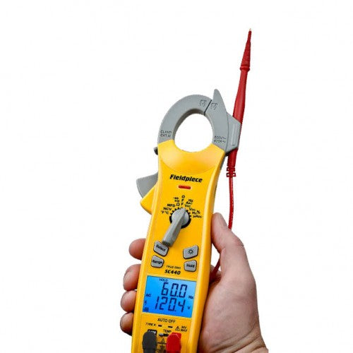 RMS CLAMP METER W/ T/A/R AND B