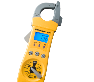 RMS CLAMP METER W/ T/A/R AND B - Tristate Filter & HVAC Supplies, Inc.