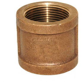 "3/8"" BRASS COUPLING LF DM - Tristate Filter & HVAC Supplies, Inc."