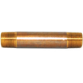 "1/2"" x 6"" BRASS NIPPLE LF DM - Tristate Filter & HVAC Supplies, Inc."