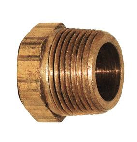 1/2 X 1/4 BRASS BUSHING DOMESTIC - Tristate Filter & HVAC Supplies, Inc.