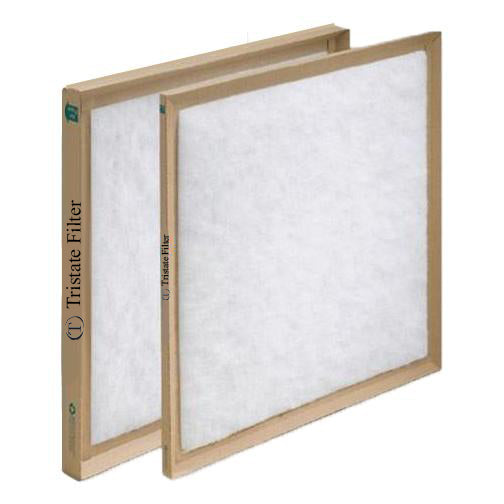 12X25X1 Disposable Polyester Air Filter (CASE OF 12) - Tristate Filter & HVAC Supplies, Inc.