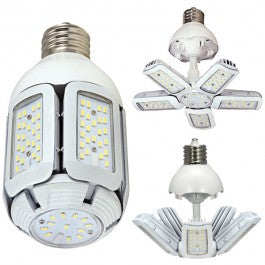 60 WATT LED HID 100V-277V 500K ADJUSTABLE LIGHT - Tristate Filter & HVAC Supplies, Inc.