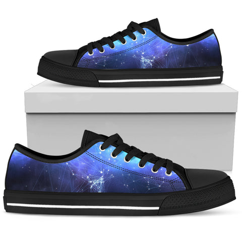 Men's Sneakers - Blue Star Chart
