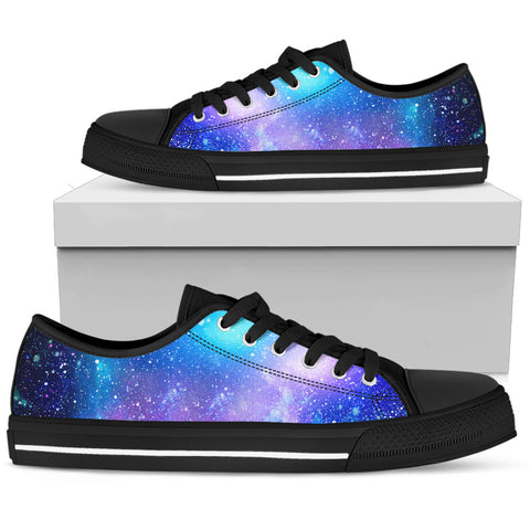 Men's Sneakers - Rainbow Galaxy