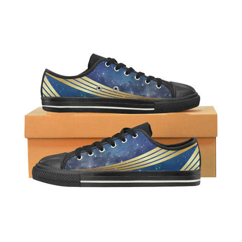 Men's Star Ship Uniform Sneakers - Blue Gold