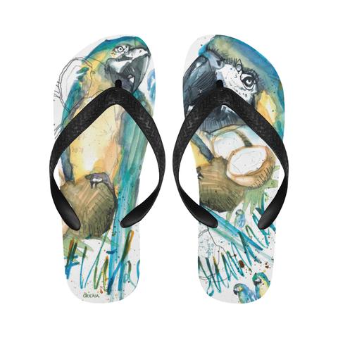 Coconut Island Flip Flops by DeCasa©