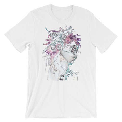 Lenny Kravitz Fan Art by Tom Lohner© - Mens Tee