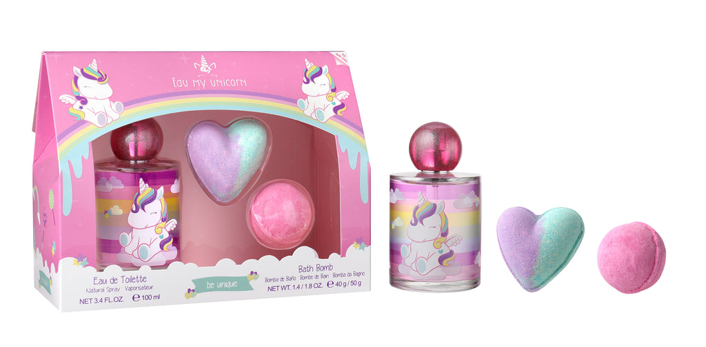 EAU MY UNICORN 100ML+BATH BOMB