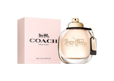 Coach Eau de Parfum is inspired by the spontaneous energy and downtown style of New York City. A fragrance full of contrasts, it opens with bright, sparkling raspberry, which gives way to creamy Turkish roses, before drying down to a sensual suede musk base note.  The signature scent was created by perfumers Anne Flipo and Juliette Karagueuzoglou.
