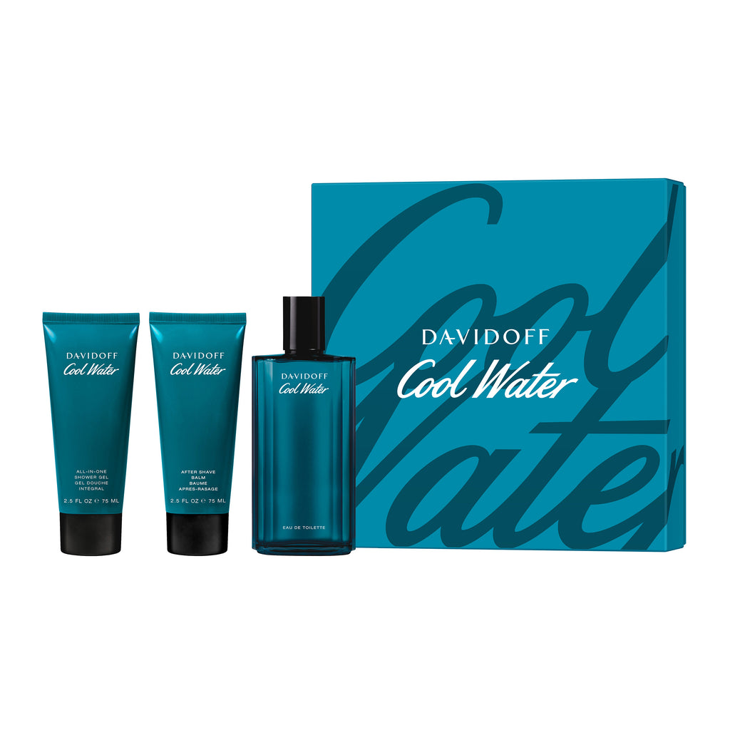 Set contains:  125ml EDT 75ml shower gel 75ml After Shave Balm
