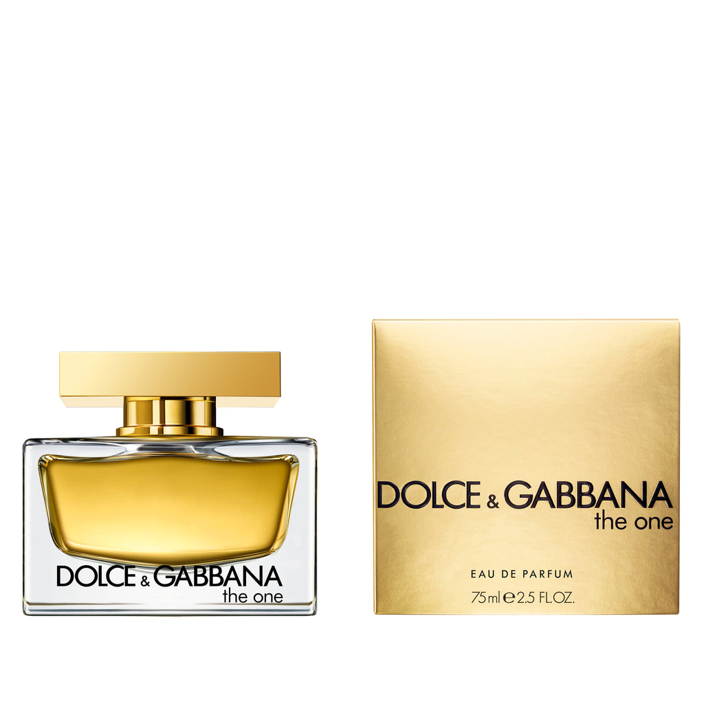 "Like the woman that wears it, the strength and uniqueness of Dolce&Gabbana The One fragrance comes from contrast. Used to adorn pulse points or misted into the air to fall in a scented aura, The One is a modern 'floriental' eau de parfum combining contemporary fruit ingredients with the perfumer's classic palette of white flowers. ""Every woman is The One!"" Stefano Gabbana."