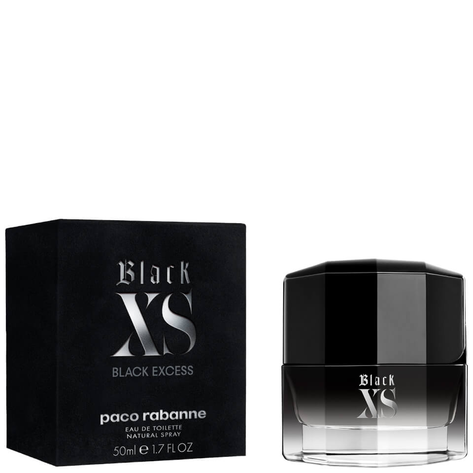 BLACK XS EDT 50ML