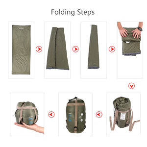 LIXADA Outdoor Envelope Sleeping Bag-Dollar Backpacker-Dollar Backpacker