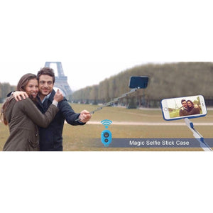 3-in-1 Travel Selfie Stick Case for iPhone+ABS Stand-Dollar Backpacker-Dollar Backpacker