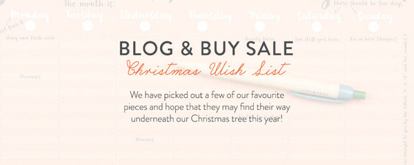 Blog and Buy Sale Christmas Wish List