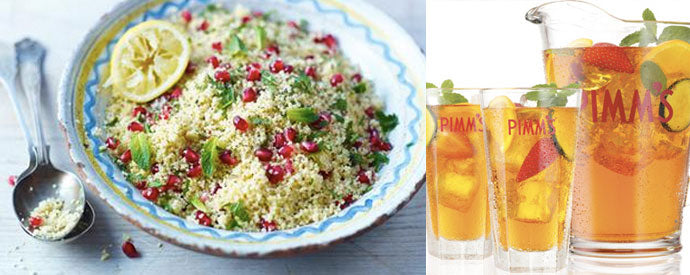 Cous-cous-salad-and-Pimms
