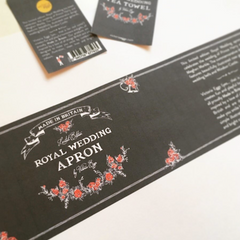 Royal Wedding packaging