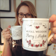 Royal Wedding Mugs harry and meghan