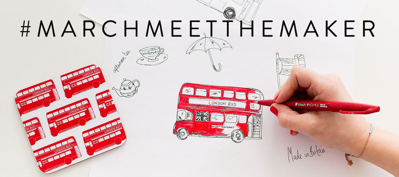 March Meet the Maker London Bus