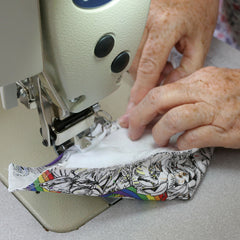 hand sewing fitted face mask