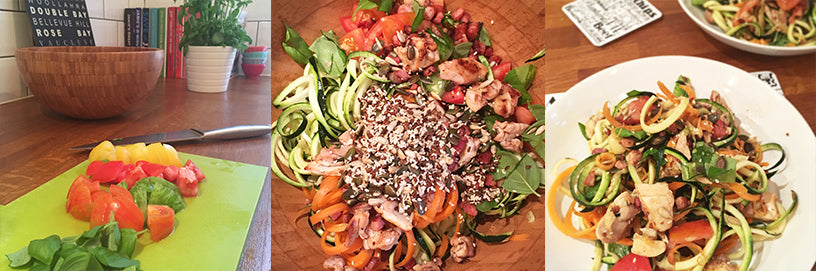 Victorias-colourful-spiralized-courgette-and-chicken-salad