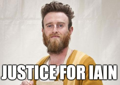 justice for iain
